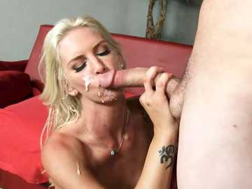 Treacherous wife Brooke Brand makes a very sensitive adultery act with strong dude