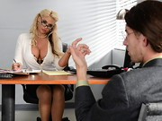 Cliff Shlong (Danny D) goes for a job interview at Brazzers and is confident hell make a good ...