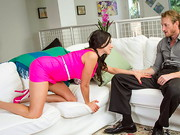 Ariella Ferrera and her husband are swingers and they finally got their friends to join the ...