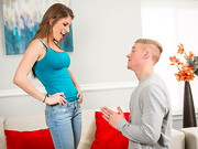 Richie stops by to visit his sister. His sister is out, but her roommate, Dillion Carter, ...
