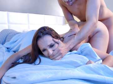Lexi Luna's husband doesn't even know that she gets fucked by young guy in their bedroom