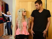 Becky thought it would be a hilarious April Fool's Day prank to convince her mom Simone ...
