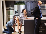 Busty housewife Lisa Ann has a pretty big secret: every time her loving husband heads off to ...