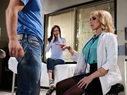 Mick and his girlfriend rolled into the Doctor's office looking for a safe way for Mick to ...