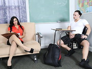 Alexa Pierce's student is being naughty, but seeing as Alexa hasn't been laid in a ...