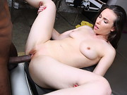 Casey Calvert is one Monster Cock loving dame. She cant get enough of that giant black dick. ...
