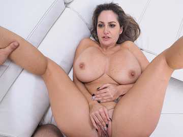 Busty porn diva Ava Addams gladly welcomes Jmac who can feed her sex hunger