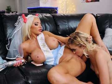 Chloe Cherry and Nicolette Shea: I'll Always Make Time For You