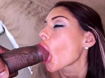 Brook Ultra: Hot amateur fucks and then swallows