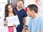 Having fucked her way through most of medical school, Tiffany Star is worried about dealing ...