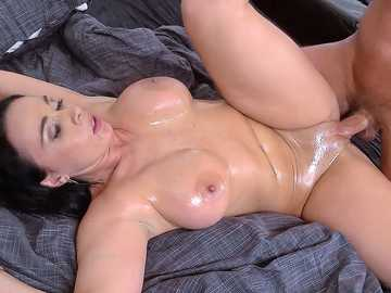 Sexy European Milf Sandra Gets Titty Fucked And Anal Pounded