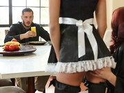 It's Peta Jensen's first day working as a maid for Monique Alexander and her family, ...